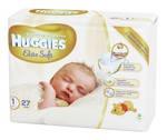 Подгузник для новорожденных Huggies Elite Soft 1 (0-5 кг) 27 штук