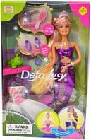 Кукла DEFA 6021 русалка, аксессуары, микс видов