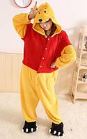 Пижама кигуруми kigurumi костюм Винни-пух