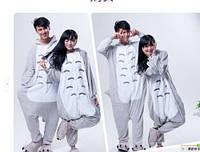 Пижама кигуруми kigurumi костюм Totoro серый кот