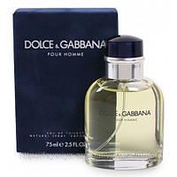 Туалетная вода Dolce & Gabbana Pour Homme 75мл