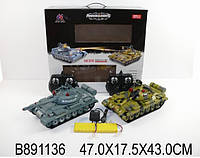 Танковый бой 11268B р/у 2 танка и 2 пульта