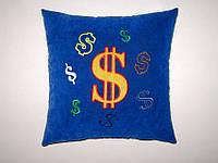 Сувенирная подушка Доллар