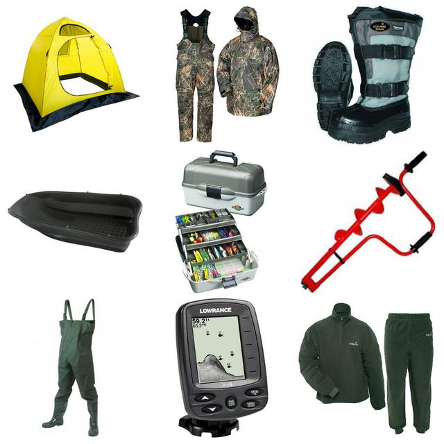 снаряжение для охоты снаряжение для рыбалки