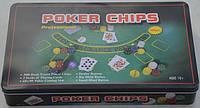 Набор для игры в покер: 300 фишек, сукно, 2 колоды карт