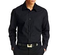 Черная мужская рубашка AYGEN (Турция)