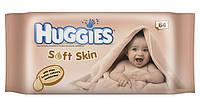 Влажные салфетки Huggies с приятным запахом и маслом шеа 64 шт.