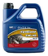 Синтетическое моторное масло SynGold 5W-40 ✔ емкость 4л.