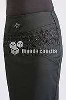 Женская юбка карандаш  Соната черного цвета