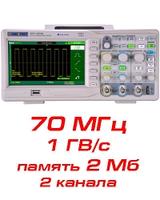 Осциллограф цифровой SDS1072СML