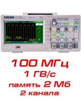 Осциллограф цифровой SDS1102СML