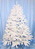 Елка искусственная литая белая 2.20 метра Белая метелица (elite class)