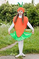 Карнавальный костюм Морковка №1