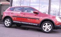 Молдинги дверей Profilex для Nissan X-Trail 2007