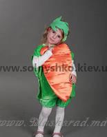 Карнавальный костюм Морковка №2
