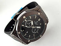 Мужские часы HUBLOT - Big Bang каучуковый черный ремешок, цвет черный