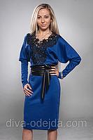 Модное платье Ангелина от производителя с кружевом