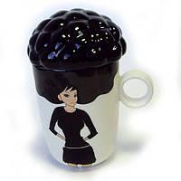 Подарок парню - чашка керамическая afro cup