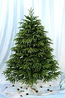 Елка искусственная литая зеленая 2.2 метра Смерека