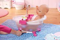 Интерактивная ванночка для куклы BABY BORN - ЗАБАВНОЕ КУПАНИЕ (свет, звук)