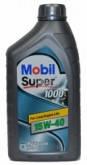 Масла Mobil Super 1000 15w-40 1л (SL) (CF-4) (A3/B3) (501.01/505.00)