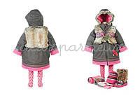 Пальто детское для девочки (2/10) Deux par Deux