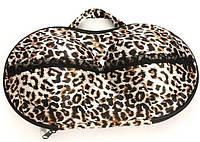 Органайзер для бюстгальтеров Леопард, сумка для лифчиков