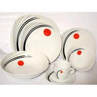 Набор керамической посуды на 37 предметов Rossler MR 23
