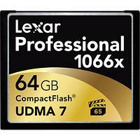 Карта памяти Lexar 64GB Professional 1066x Compact Flash Memory Card (UDMA 7)