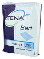Одноразовые пеленки Tena Bed Plus 60х60 5шт.