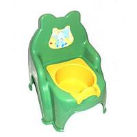 Горшок стульчик детский 013317-1 ТМ Смайлики 5 цветов