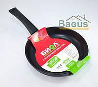 """Сковорода (d-24 см, h-4,5 см) с антипригарным покрытием без крышки """"Оптима"""" Биол (2404П)"""