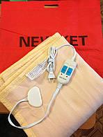 Двухспальная электропростынь с двойным регулятором .Полиамид.Турция 155х140см., 110 Вт., макс.т. 40С