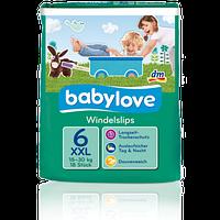 Babylove подгузник-трусики 6 ХХL 18-30кг 18шт