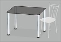 Стеклянный обеденный стол Mono P mini G