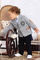 Трикотажный комплект нарядный на мальчика