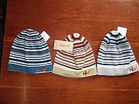 """Осенняя шапка для мальчика """"Юниор"""", размер 48-52"""