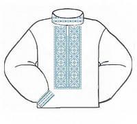 Заготовка мужской сорочки-вышиванки ВМБ-005