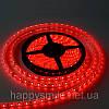 LED лента 5050 60 RW, цвет красный