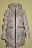 Женская куртка пуховик зима 2015 с