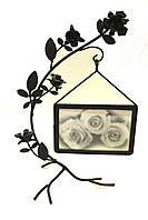 Декоративная фоторамка из металла «Чайные розы»