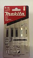 Пилки (полотна) для лобзика Makita B-19 (A-85715) HCS по дереву 5 шт. (70/105 мм) Опт и розница