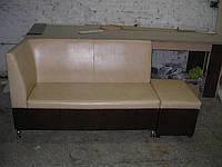 Диван лавочка для кухни с раскладушкой =УГОЛ=, мягкая мебель для кухни