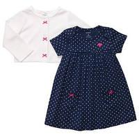 Детский набор платье с кардиганом для девочки