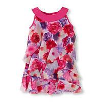 Нарядное платье на девочку шифон