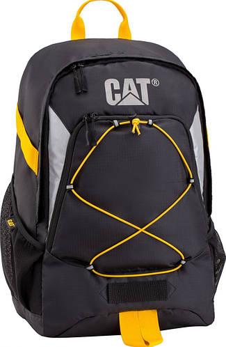 Прочный рюкзак 25 л. CAT (Caterpillar) Mochilas 83067 черный, красный