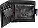 Мужское классическое кожаное  портмоне WANLIMA (ВАНЛИМА) W620437902501-black, фото 2