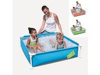 Детский каркасный бассейн BestWay (56217) 122х122х30,5 см