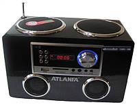Портативная акустика Atlanfa AT8810 мини колонки с аккумулятором