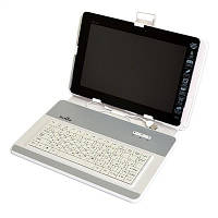 "Чехол для планшета 10,2"" DeTech DTK-0110SUW White с USB клавиатурой"